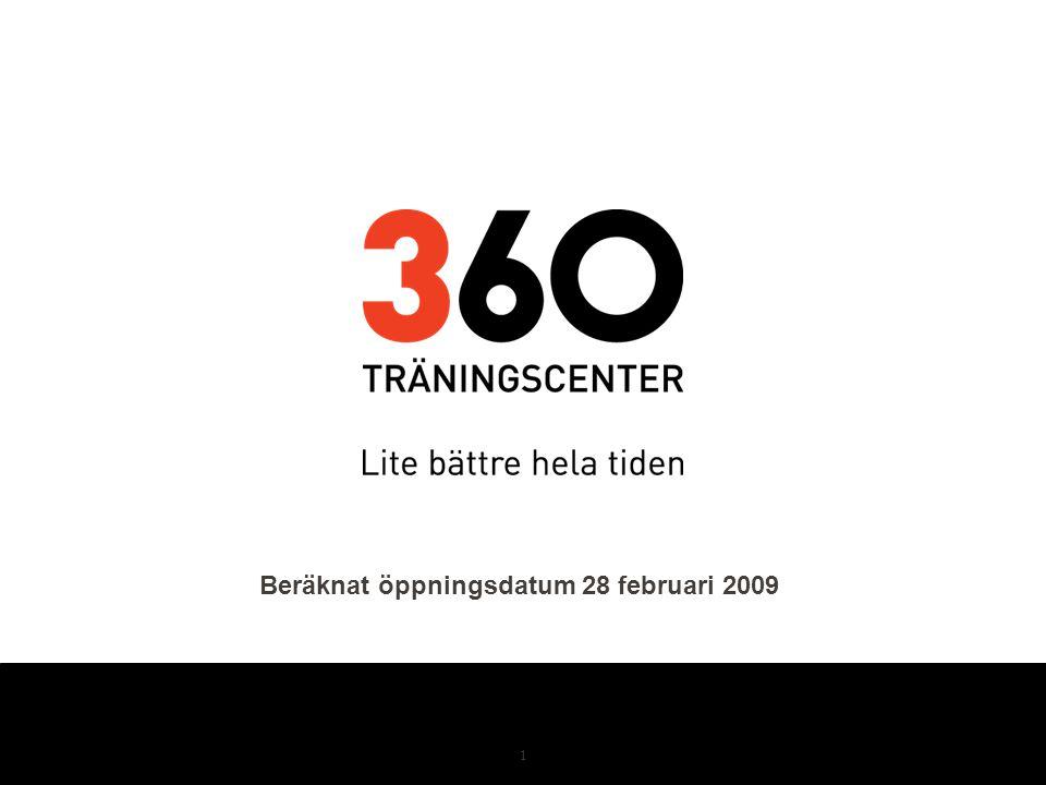 1 Beräknat öppningsdatum 28 februari 2009