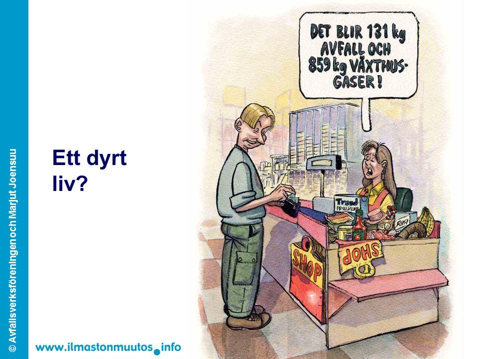 © Avfallsverksföreningen och Marjut Joensuu Ett dyrt liv?