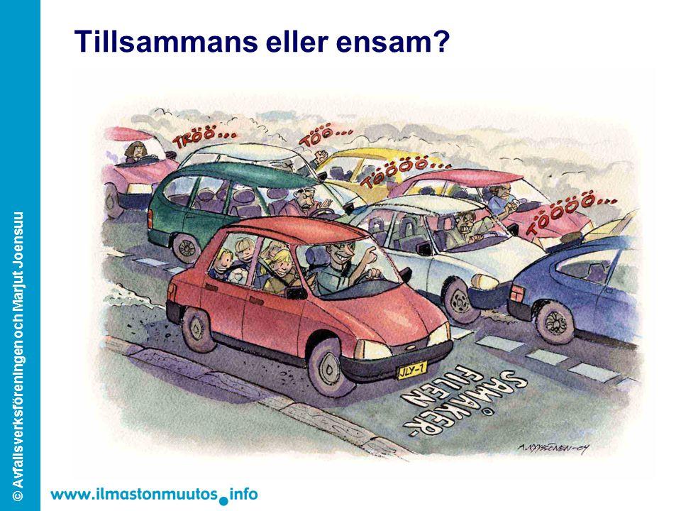 © Avfallsverksföreningen och Marjut Joensuu Tillsammans eller ensam?