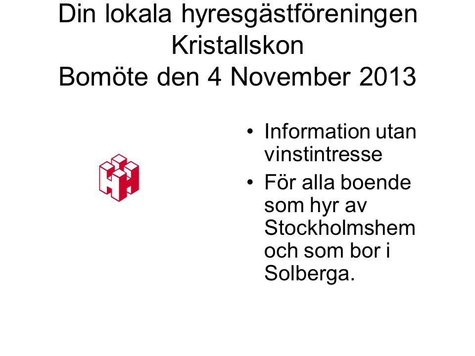 Två segrar vunna •Tack vare Lokal hyresgästförening Kristallskon.