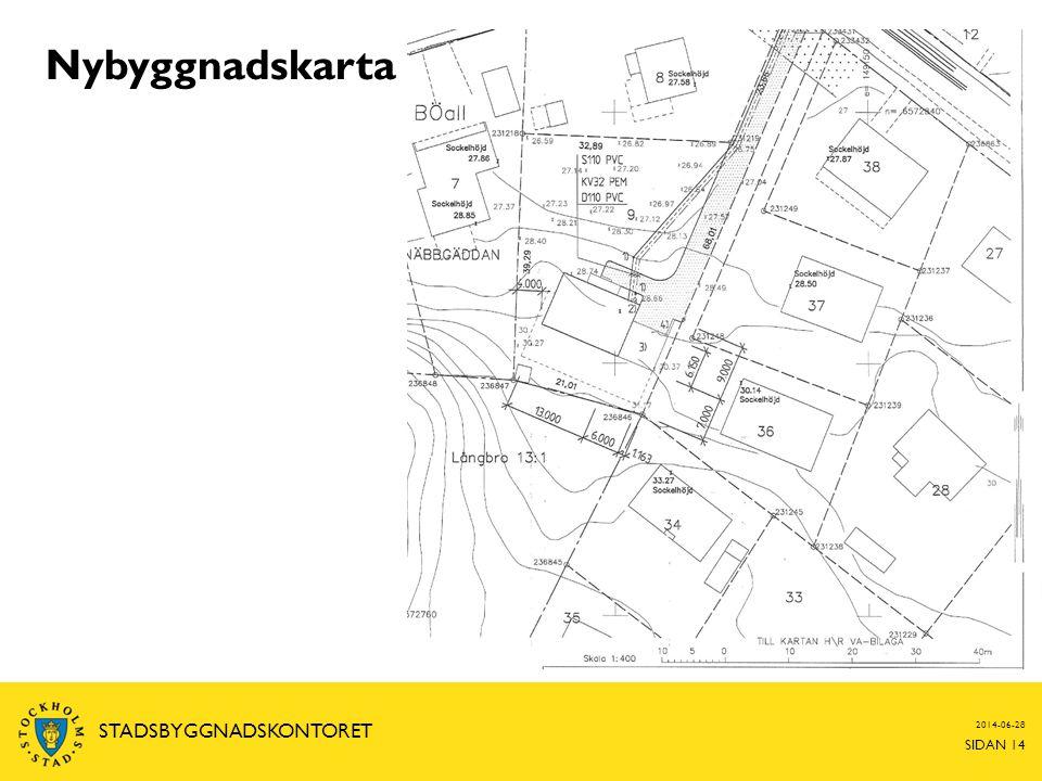 2014-06-28 SIDAN 14 STADSBYGGNADSKONTORET Nybyggnadskarta