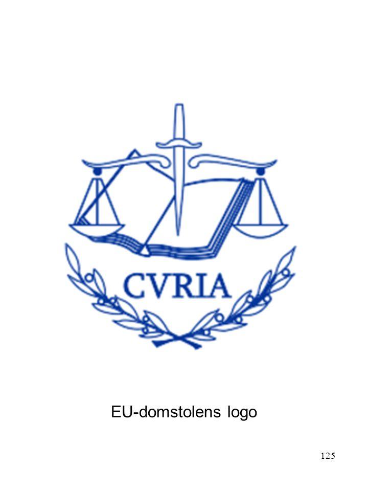 125 EU-domstolens logo