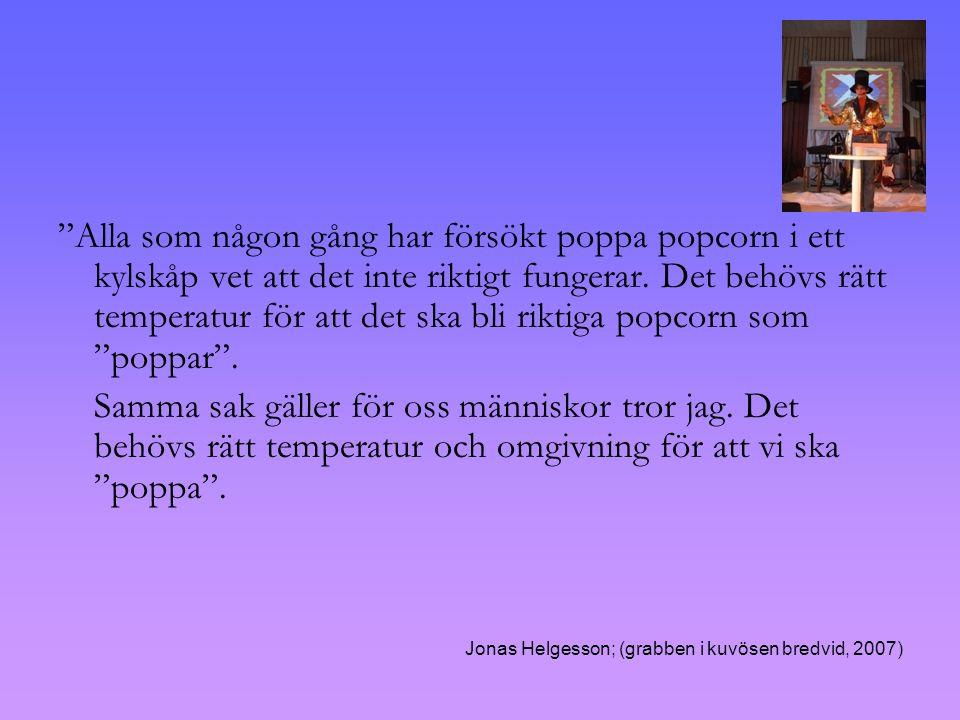 Alla som någon gång har försökt poppa popcorn i ett kylskåp vet att det inte riktigt fungerar.