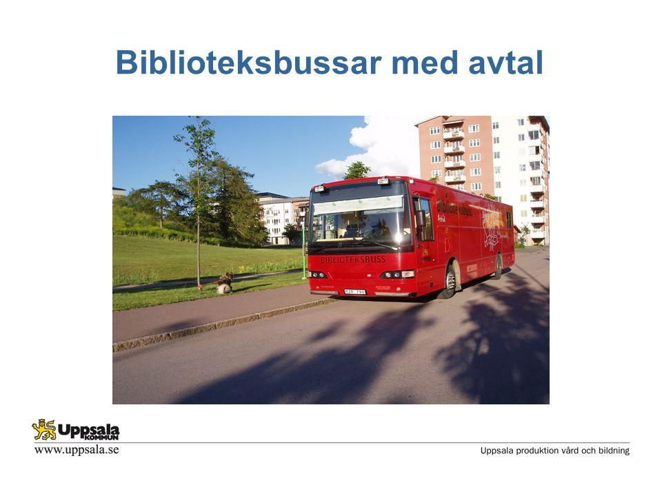 Biblioteksbussar med avtal