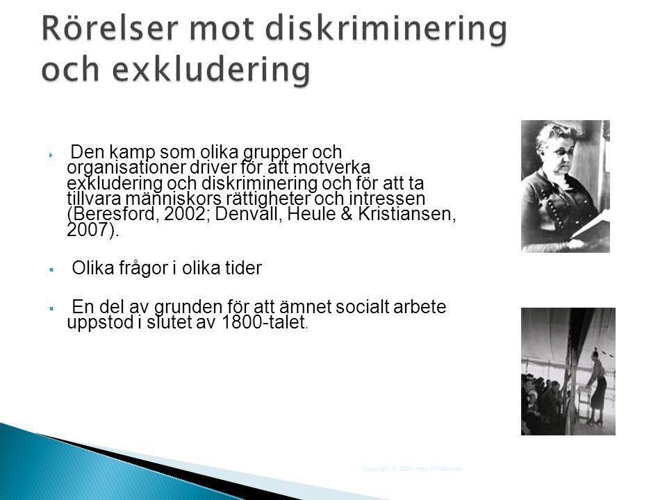På 1960- och 70-talen växte R-förbunden (RFHL, KRUM, RSMH och ALRO) fram i Sverige.