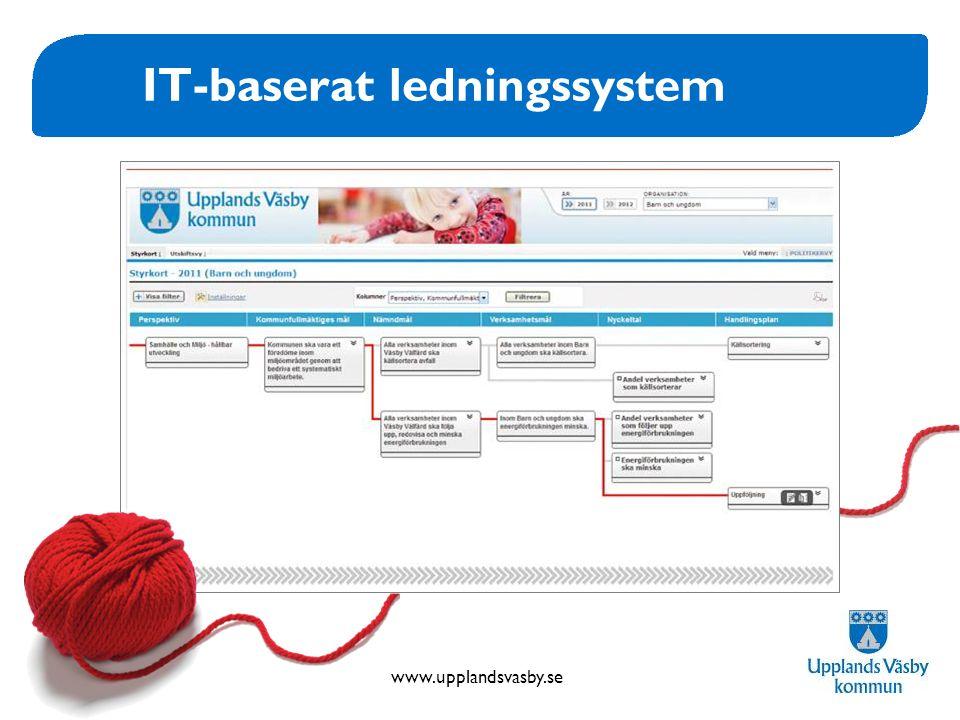 IT-baserat ledningssystem