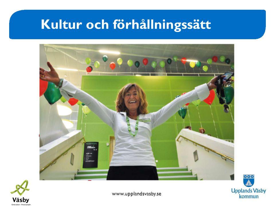 www.upplandsvasby.se Kultur och förhållningssätt