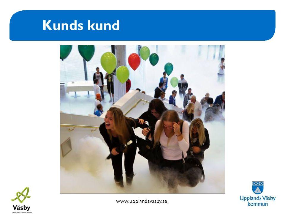www.upplandsvasby.se Kunds kund