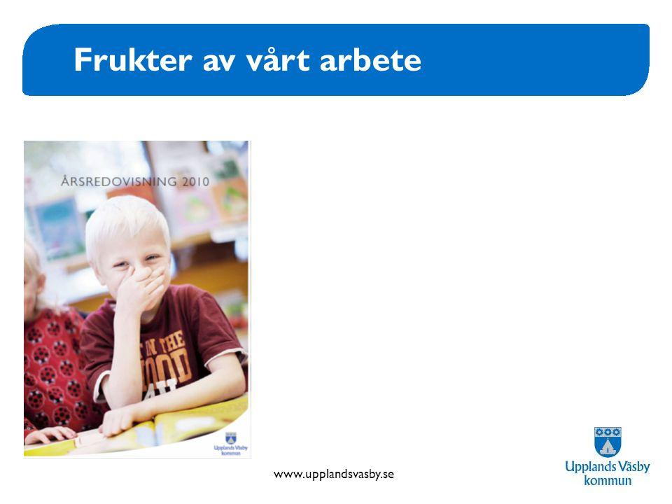 www.upplandsvasby.se Frukter av vårt arbete