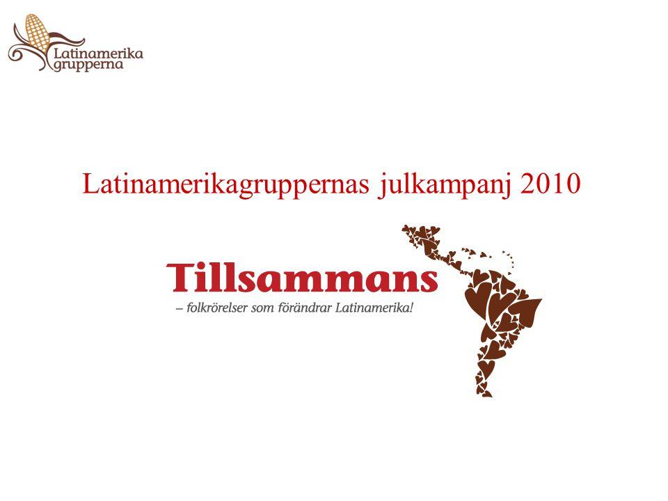Latinamerikagruppernas julkampanj 2010