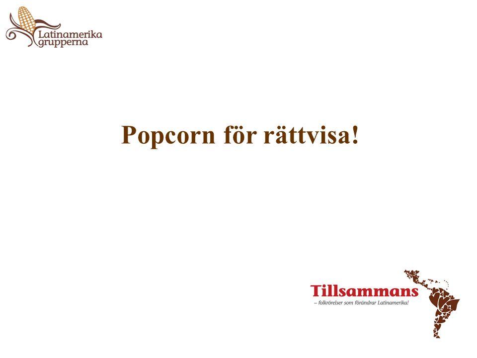 Popcorn för rättvisa!
