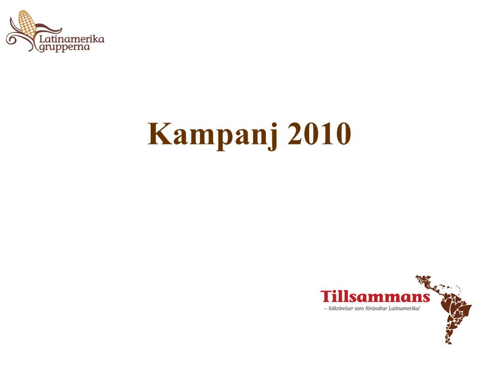 Kampanj 2010