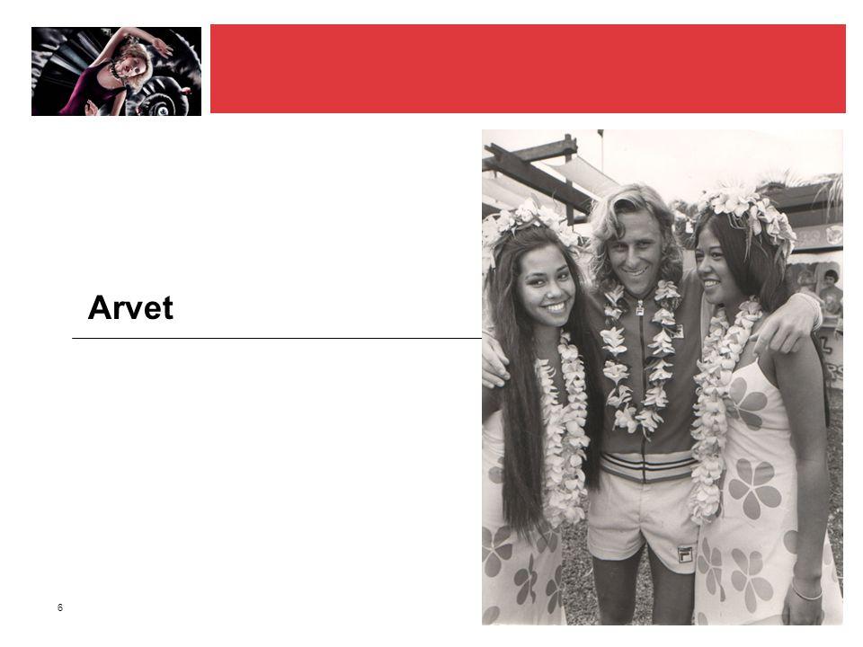 6 Arvet