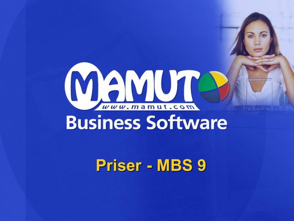 Priser - MBS 9