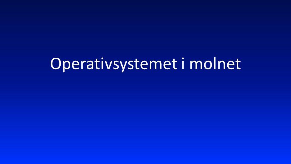Operativsystemet i molnet