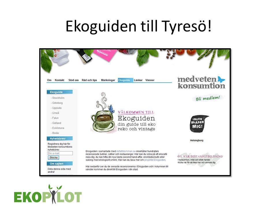 Ekoguiden till Tyresö!