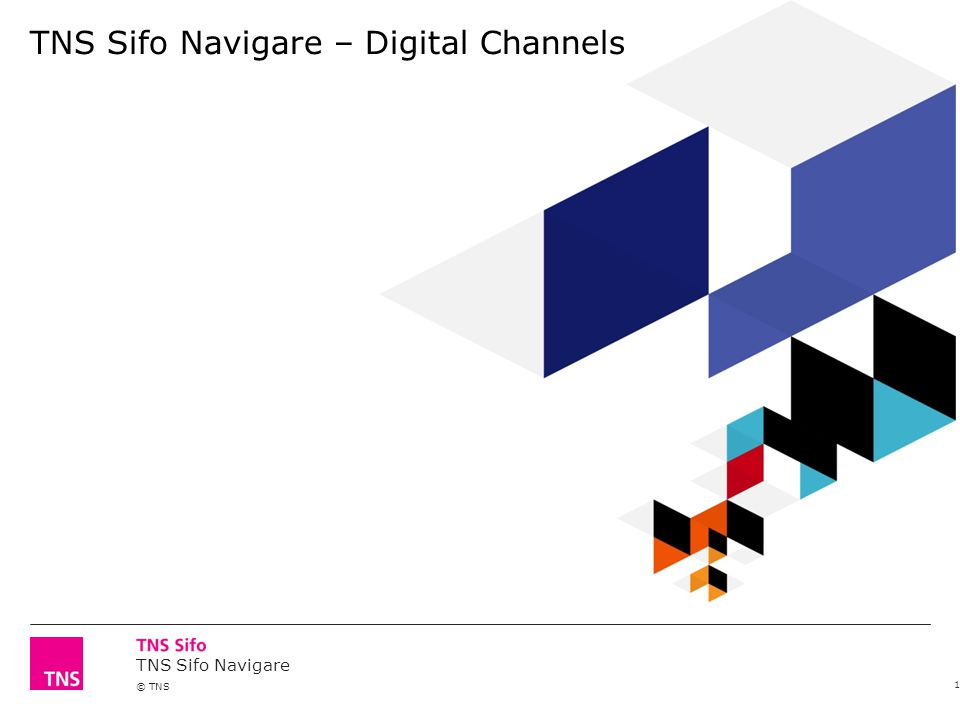 TNS Sifo Navigare © TNS TNS Sifo Navigare – Digital Channels 1