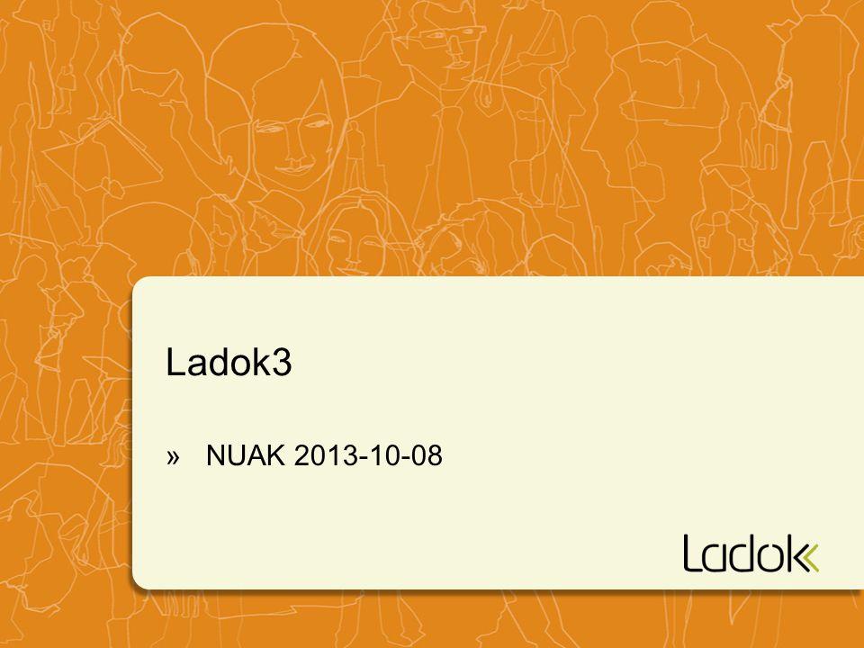 Ladok3 » NUAK 2013-10-08