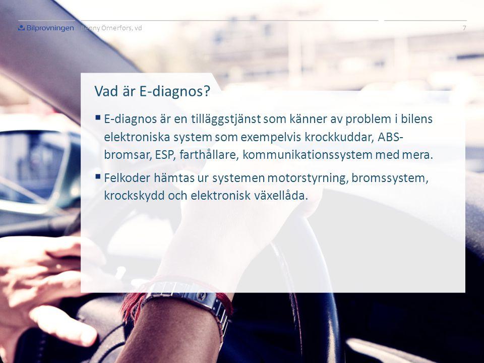 Nya krav behövs  För att minska gapet behövs nya krav.  I juli 2012 föreslog EU-kommissionen att tester av bilens elektroniska säkerhetssystem ska v