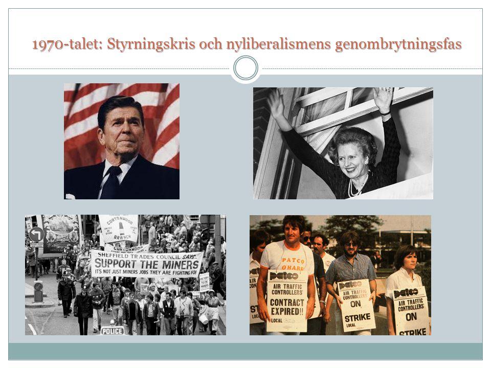 1970-talet: Styrningskris och nyliberalismens genombrytningsfas