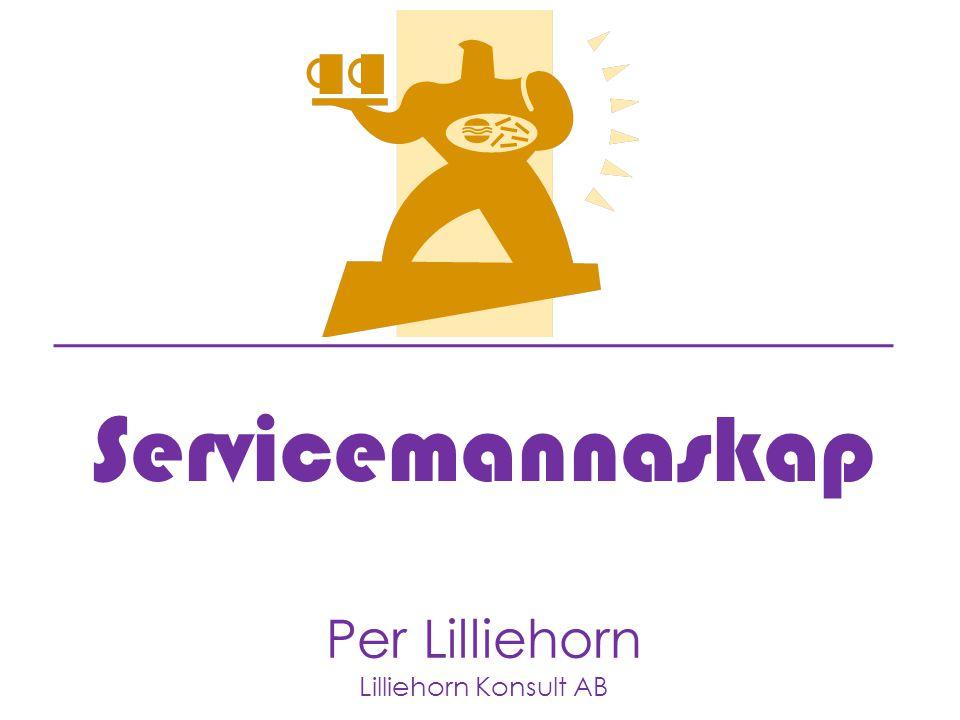 Servicemannaskap Per Lilliehorn Lilliehorn Konsult AB