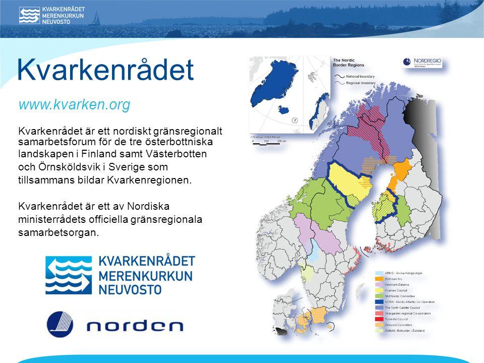 Kvarkenrådet är ett nordiskt gränsregionalt samarbetsforum för de tre österbottniska landskapen i Finland samt Västerbotten och Örnsköldsvik i Sverige