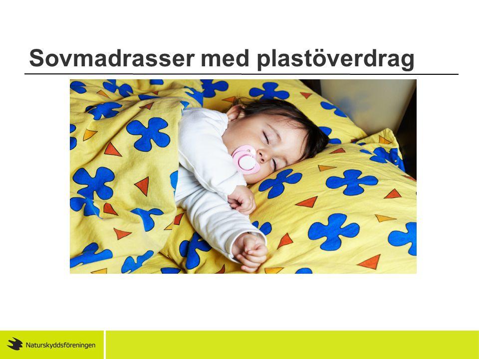 Sovmadrasser med plastöverdrag