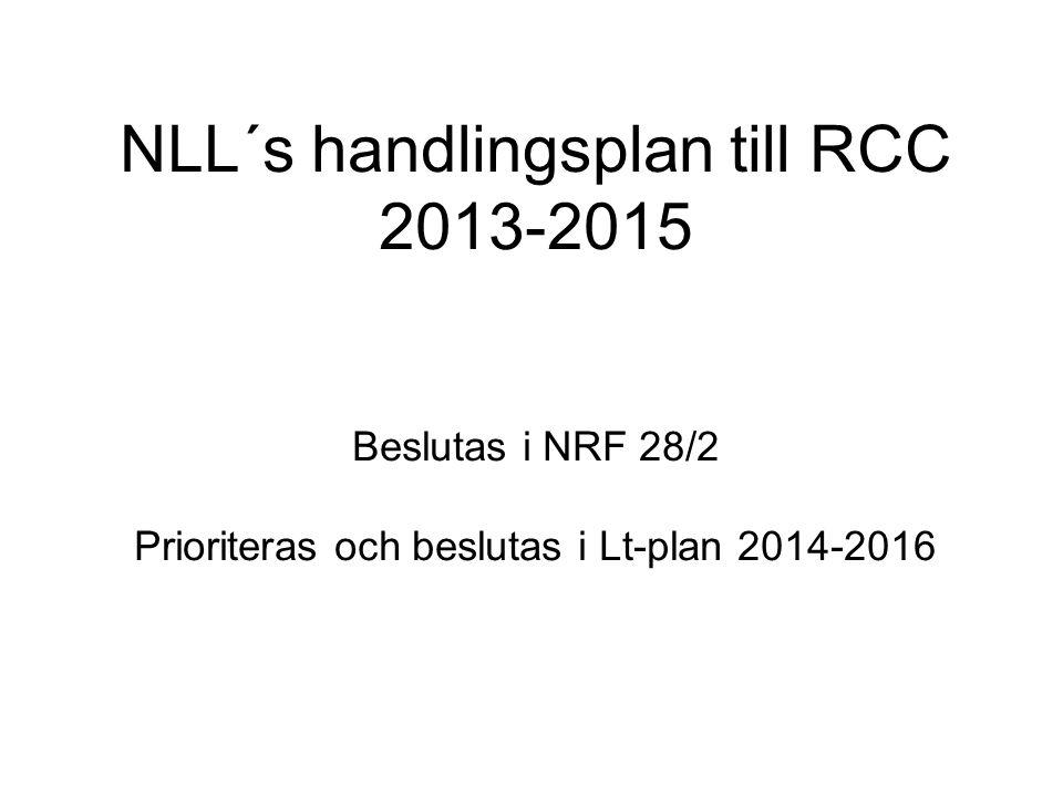 Handlingsplan 2013-2015 2013 2014 1.Förstärkt patologi0 kr2 mkr 2.