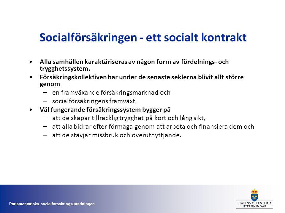 Parlamentariska socialförsäkringsutredningen Arbetslöshetsförsäkringen •Uppgifter om arbetad tid, som är en viktig komponent i arbetslöshetsförsäkringen, föreslås inte samlas in i månadsuppgifterna.