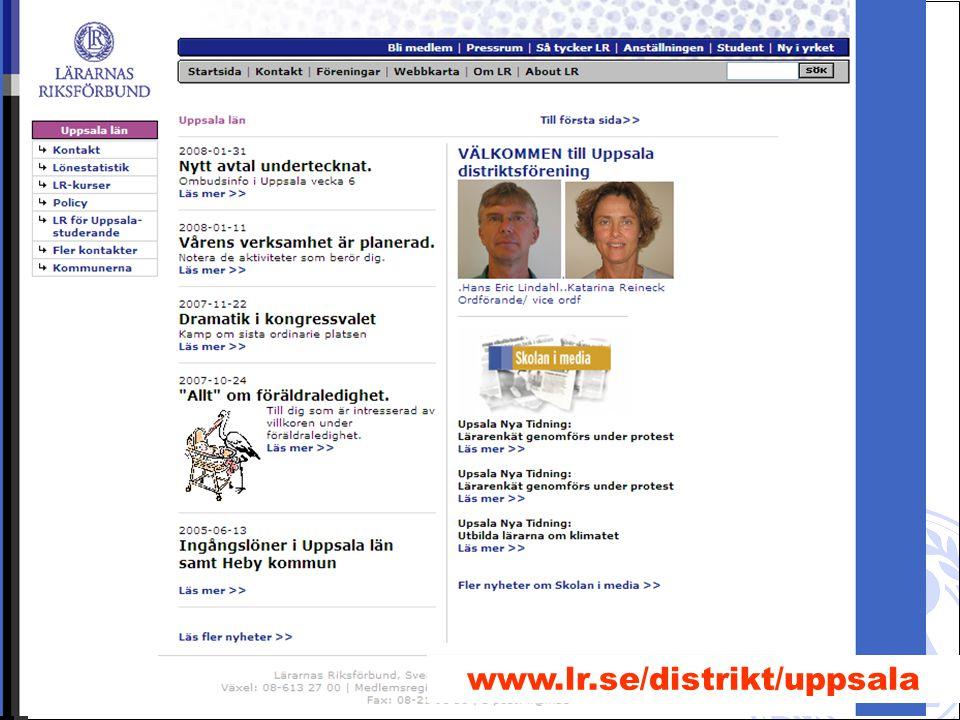 Hans Eric Lindahl 2008-04-2211 www.lr.se/distrikt/uppsala
