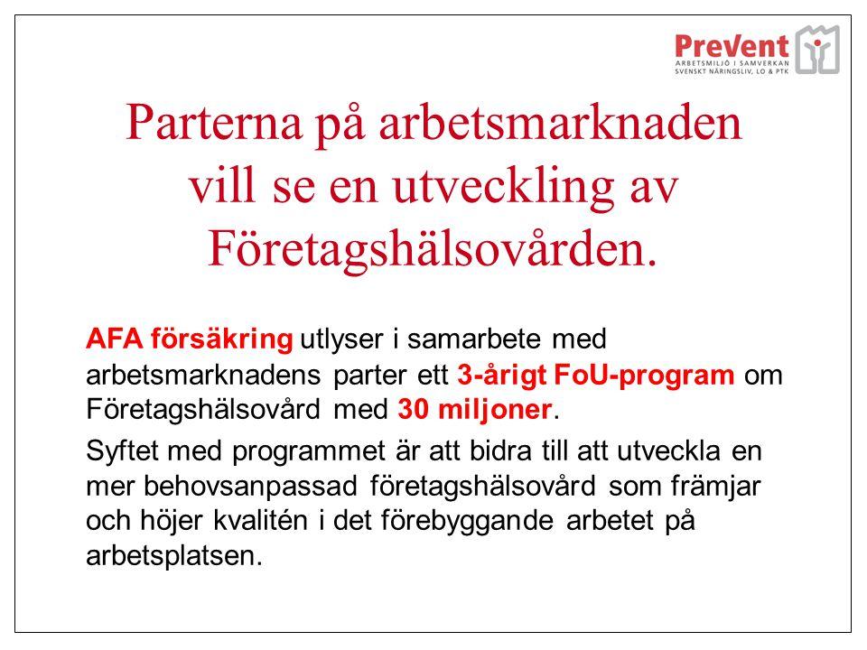 Samarbete företag och företagshälsovård Pernilla Törnros på Lantmännen berättar tillsammans med Kristina Damgård Hansen från Previa om sitt samarbete och hur val av företagshälsovårdstjänster kommer till.