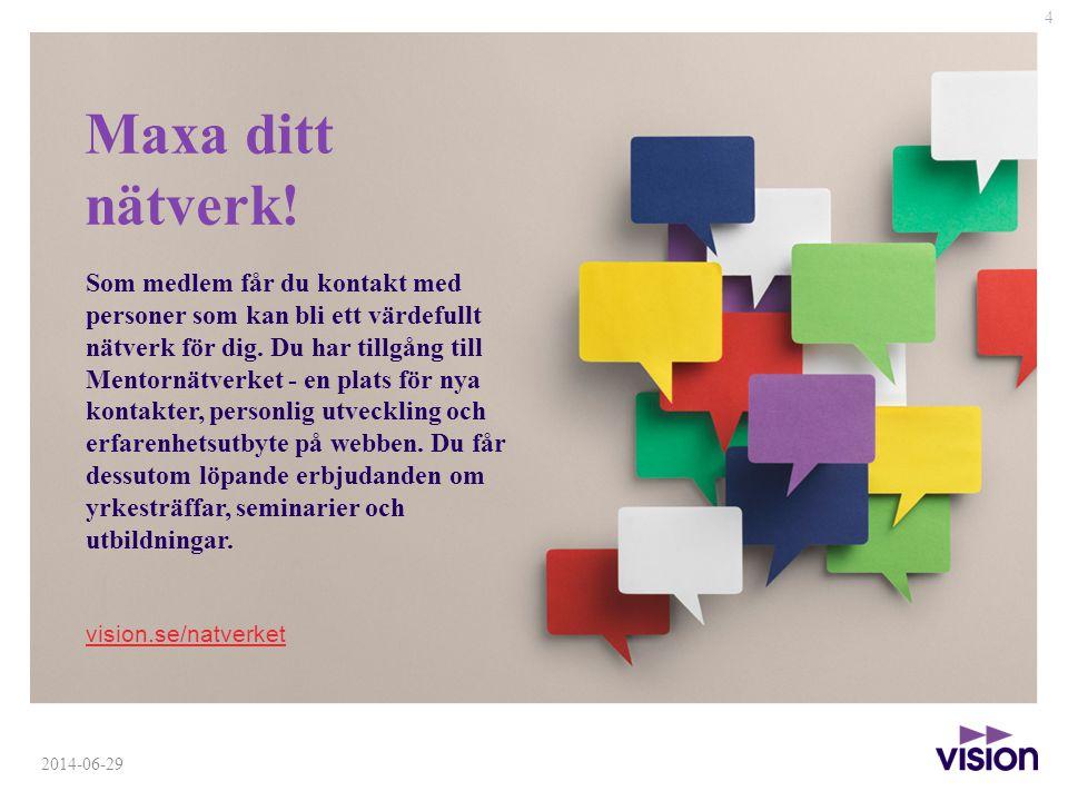 4 2014-06-29 Maxa ditt nätverk.
