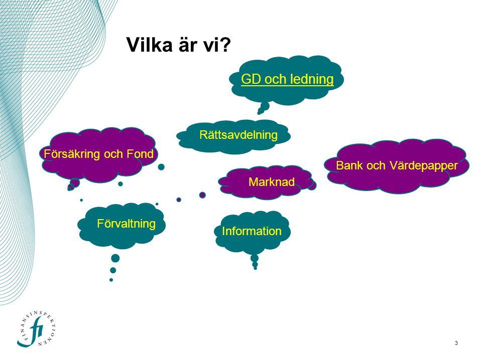 4 Inspektör på FI Ingen särskild utbildning idag.