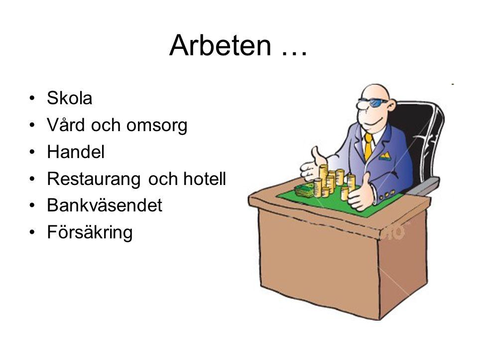 Ishotellet ger… •Arbeten - både att driva hotellet och bygga upp den varje år.