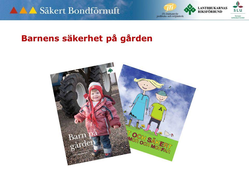 Barnens säkerhet på gården