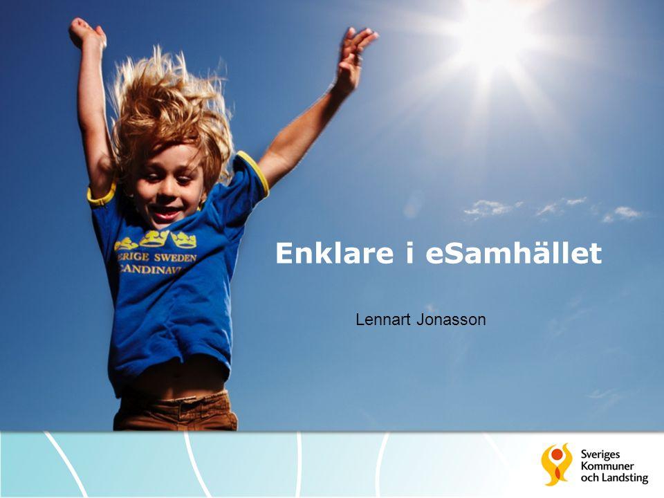 Enklare i eSamhället Lennart Jonasson