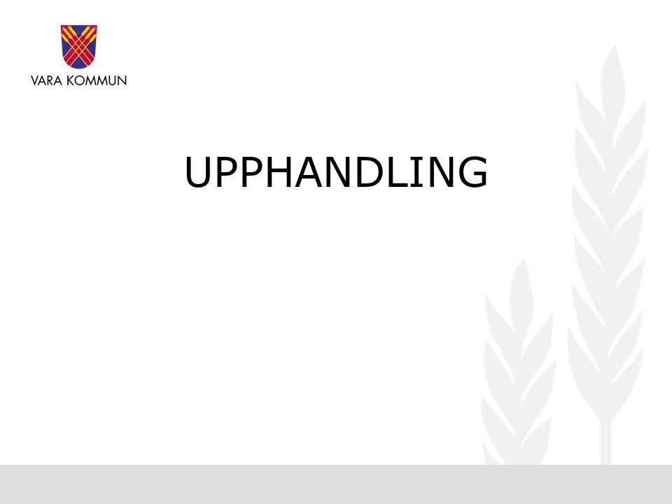UPPHANDLING