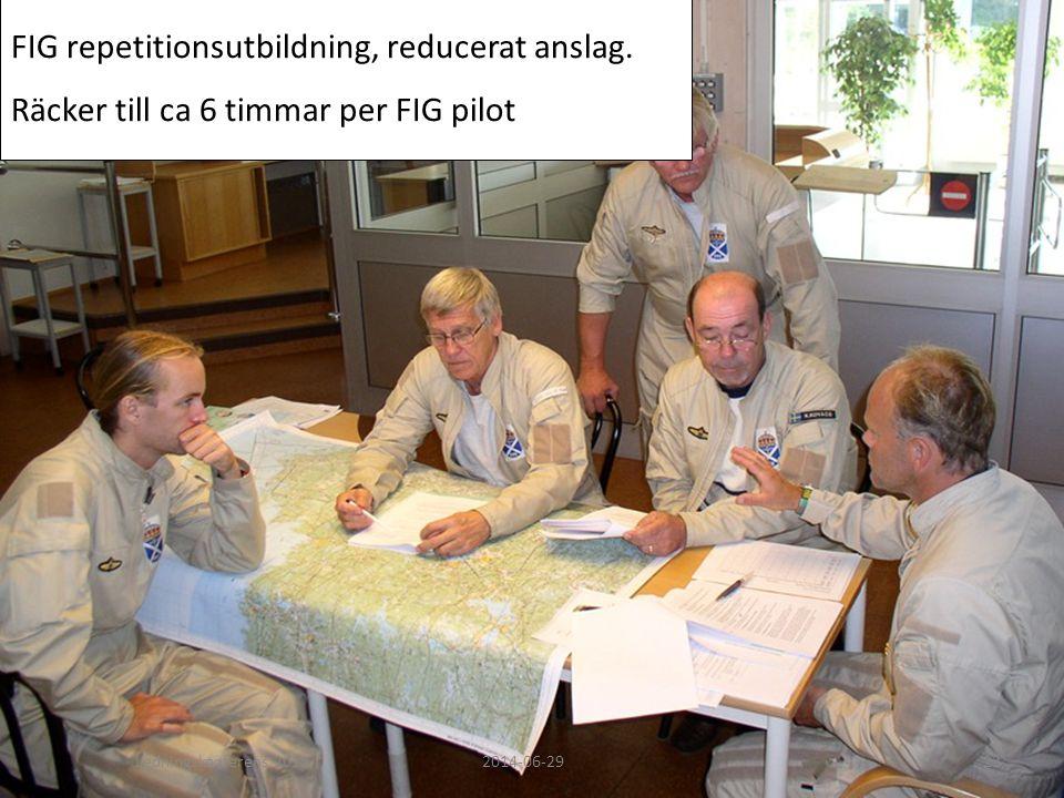 FIG repetitionsutbildning, reducerat anslag. Räcker till ca 6 timmar per FIG pilot Ledningskonferens 20122014-06-2923