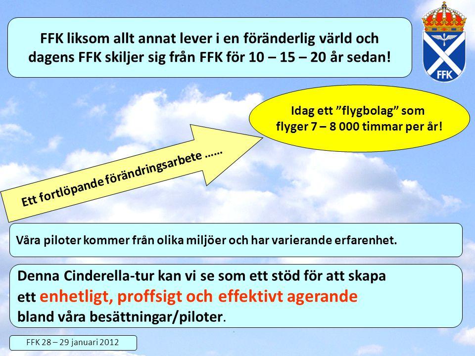 FFK liksom allt annat lever i en föränderlig värld och dagens FFK skiljer sig från FFK för 10 – 15 – 20 år sedan! Ett fortlöpande förändringsarbete ……