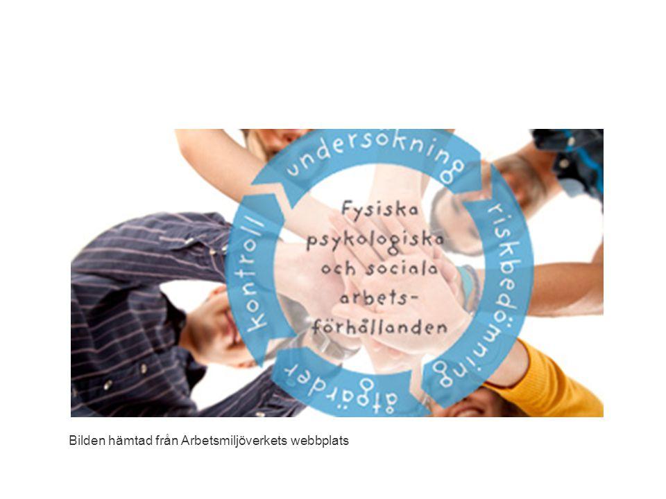 Bilden hämtad från Arbetsmiljöverkets webbplats