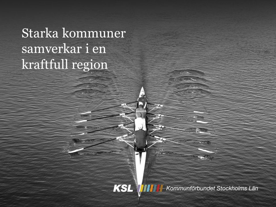 Starka kommuner samverkar i en kraftfull region