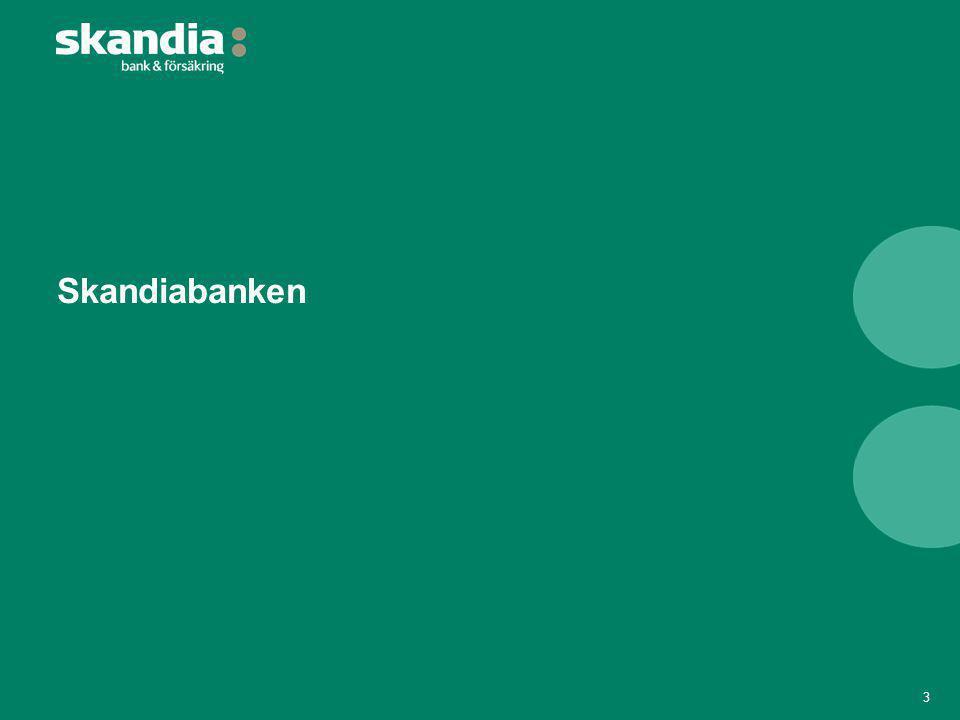 Delårsresultat H1 2013 (2/2): Nyckeltal 14 K/I-tal efter kreditförlusterKapitaltäckningsgrad, % Räntabilitet på eget kapitalKreditförlustnivå, % Kommentar: Siffror för 2008-2012 avser Skandiabanken som koncern.