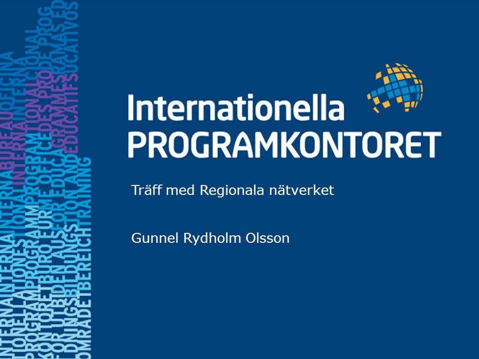 Work programme 2012 Fyra gemensamma europeiska mål (gäller alla LLP-program): 1.