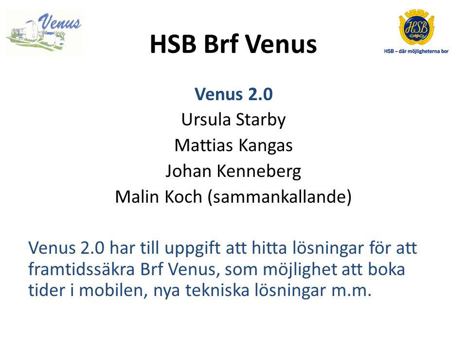 HSB Brf Venus Vice värd Ursula Starby