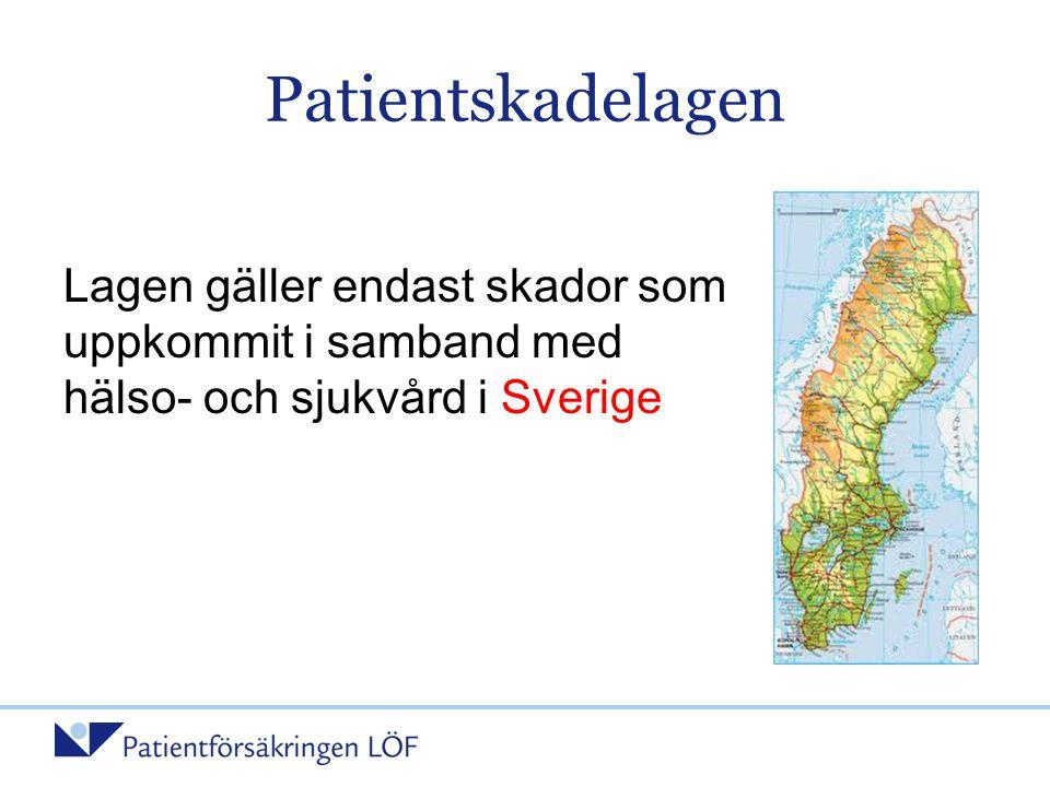 Fallbeskrivning 3 Diagnosskada (6 § 3) •Patient med diabetes och högt blodtryck •Söker vårdcentral flera gånger i maj och juni 2005 p.