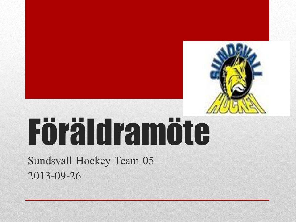Föräldramöte Sundsvall Hockey Team 05 2013-09-26