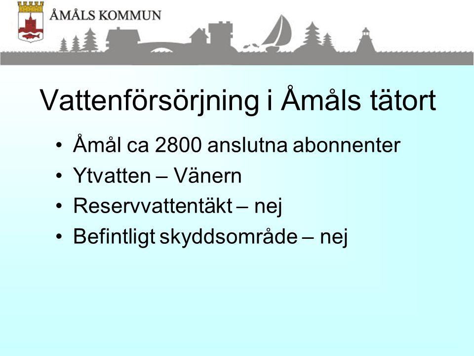 Andra kommuner •Västra Götaland – 203 kommunala vattentäkter, 37 st fullgott skydd (18 %).