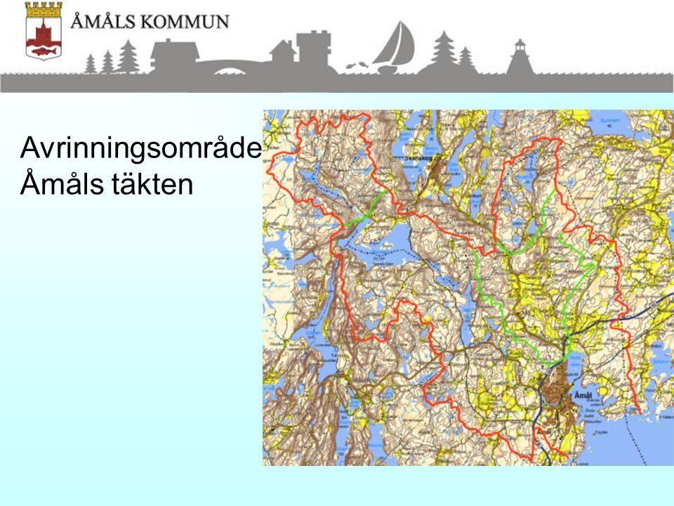 Information/lästips •Naturvårdsverkets handbok 2003:6 •Miljösamverkan Västra Götalands handbok •Ramdirektivet – vattenmyndigheten •LST hemsida •Svenskt vattens hemsida •Åmåls kommuns hemsida