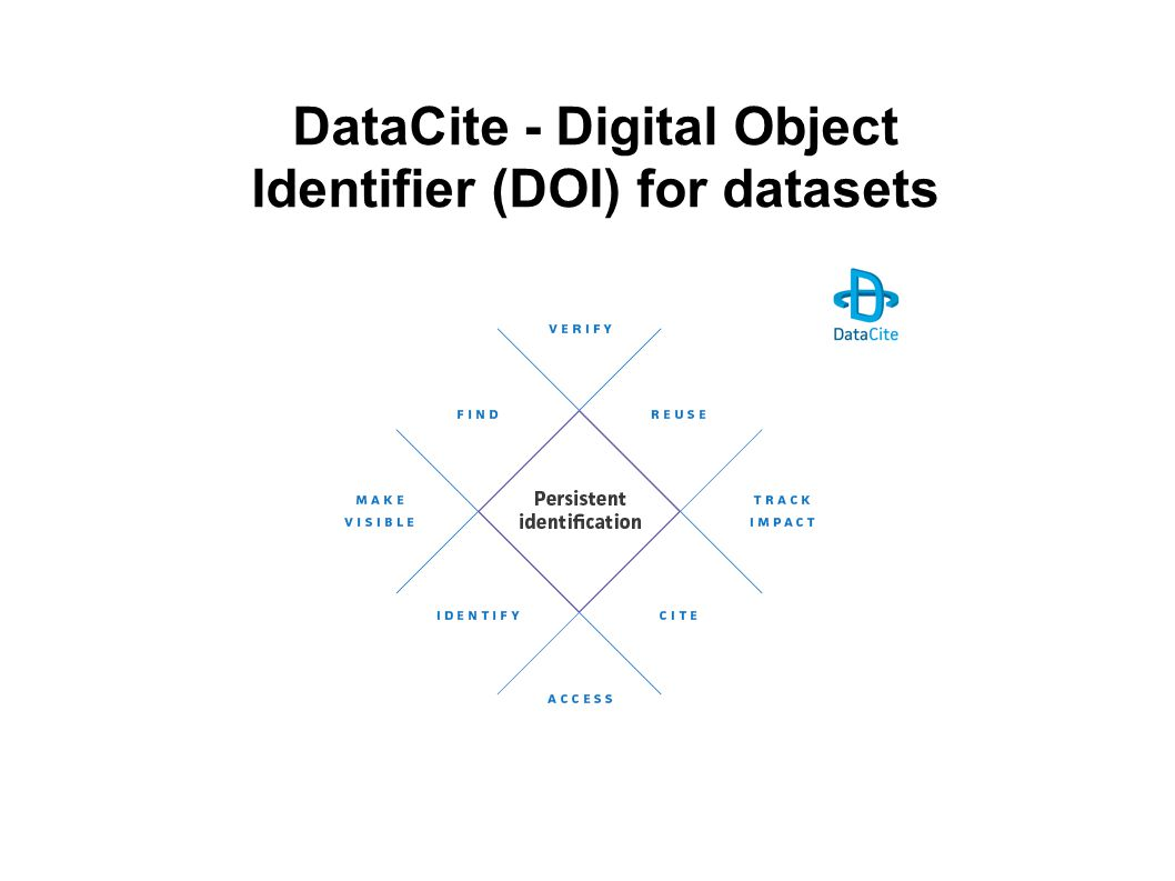 DataCite - Digital Object Identifier (DOI) for datasets
