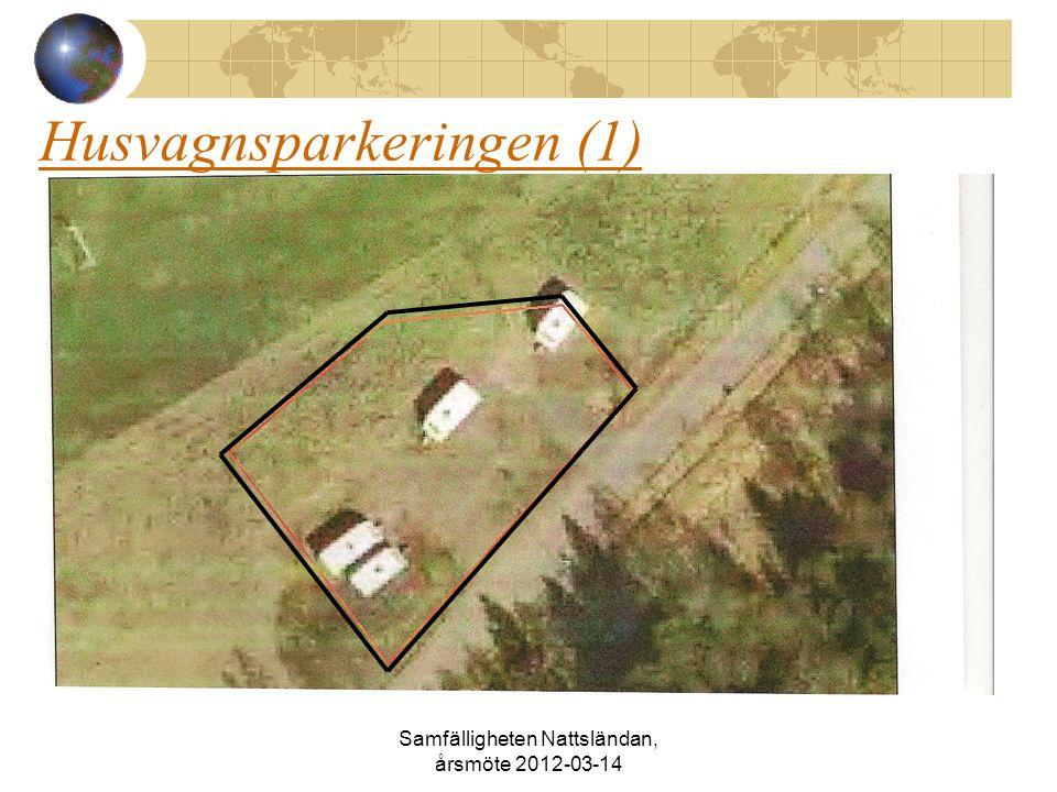 Husvagnsparkeringen (1) Samfälligheten Nattsländan, årsmöte 2012-03-14